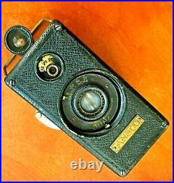 1929 Ansco Memo 1st 35mm 1/2 Camera US Made With 2 film Cassettes! RARE! Cool