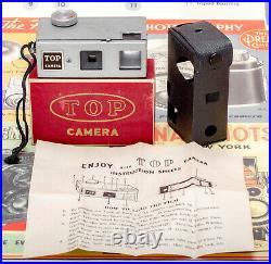 (54) Vintage TOP Collectible Miniature Camera MIOJ Japan