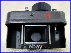 AJAX F-21 Vintage USSR Soviet Military KGB SPY 21mm Mini Camera + Spool + Manual