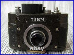 Ajax F-21 KMZ RARE Vintage USSR Russian KGB Spy Subminiature 21mm Camera + Spool