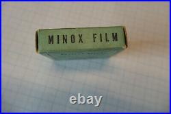 Alter Minox Film mit 2 Film Kasetten