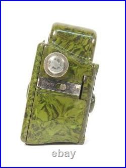 Antigua Camara Subminiatura Coronet Midget Año 1934 Verde Camera Coronet Midget