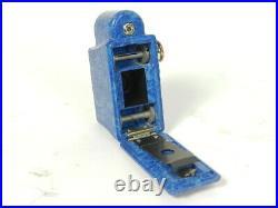 Antigua Camara Subminiatura Coronet Midget Azul Año 1934 Camera Coronet Midget