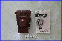 As Found, Vintage Steky 16mm Film Camera With Box