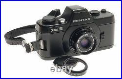 Asahi Pentax Auto 110 Camera Grip Flash Lenses Filters Caps Manual Original Box