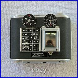 Black Tessina 35 L Serial #769285 with Box Automatic 35mm Camera Subminiature Spy