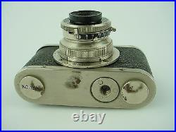 Boltax Model I Subminiature Camera with40mmm Picner, Picny D Shutter & Case Nice