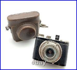 Boltax Picny Vintage Subminiature Spy Camera with40mm 4.5 Picny Anastigmat & Case