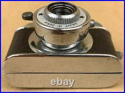 CLICK Hit Type Vintage Subminiature White Face Spy Camera Made in Japan