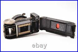 Camera Miniature Minifex Fotofex. Lens Trioplan F/3.5 0 31/32in