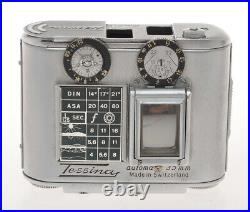 Concava S. A. Tessina 35 Chrome small Swiss reflex camera 35mm c. 1960