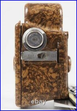 Corona Midget braun, 16mm Miniatur Bakelitkamera aus den 1930er