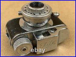 ELITE Hit Type Vintage Subminiature Spy Camera Made in Japan Great Collectible