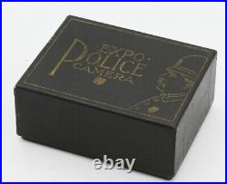 EXPO POLICE CAMERA New York USA Vers 1911 12 vues 12 x 26 mm sur film souple