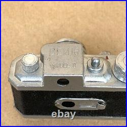 Gem 16 Model II Subminiature Spy Film Camera With Leather Case, VINTAGE, GREAT