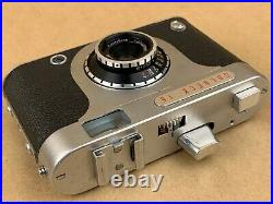 Goldammer Goldeck 16 Subminiature Spy German Camera with 20mm f/2.8Color-Ennit