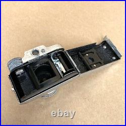 Hadson Subminiature Hit Type Spy Film Camera, MADE IN JAPAN, With Case, VINTAGE
