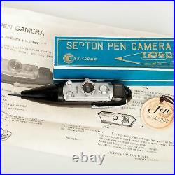 Harukawa, Japan Septon Pen Camera, Deluxe Model