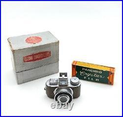Jilona MIDGET Sub Miniature Hit Type Camera With Box And Film! Very Nice