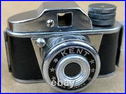 KENT Hit Type Vintage Subminiature Camera withLeather Case Clean