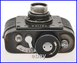 KMZ Ajax MF-21 MF21 Krasnogorsk Russian motor spring spy camera, fixed focus