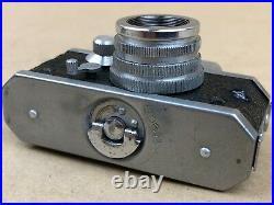 Kiku 16 Model II (Morita) Vintage Subminiature Spy camera withLeather case Rare