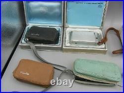 Lot of 9 Minolta 16 Spy Subminiature, 16 II & 16 PS & 16 MG S Film Camera READ