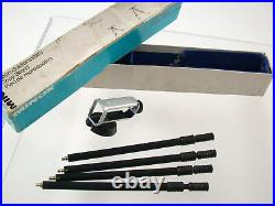 MINOX 8x11 A B C BL vintage original Germany Zubehör accessory set top premium