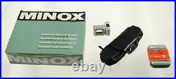MINOX 8x11 B C vintage original Germany Zubehör accessory set top prime