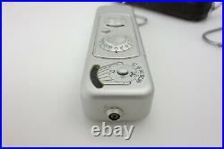 MINOX B Miniaturkamera 945723 Complan 15mm f3,5 Blitzgerät Stativ jh073