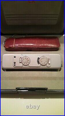 MINOX LX CAMERA BOXED SET With RARE MINOX CASE V. NICE & WORKING