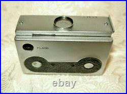 Mamiya Super 16 Subminiature Spy Camera W 25mm F3.5 Lens/ Fitted Case, Workingg