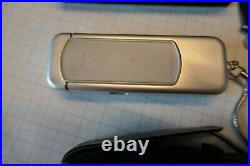 Minox A Silber Unsychronisiert defekt mit früher Box Schwarz