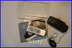 Minox A Silber mit Plexiglas Box