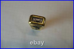 Minox A Vergoldet Versuchsmodell oder Fake