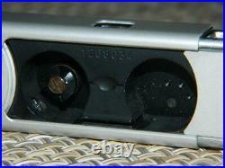 Minox BL Subminiature Spy Camera Chrome serial # 1208034, 8 x 11mm, Vintage EUC