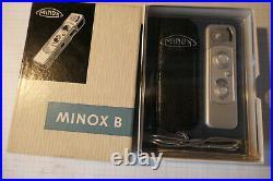 Minox B Silber mit OVP und Top