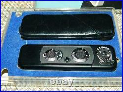 Minox B Subminiature Camera black serial # 916751 8 x 11mm, Vintage EUC