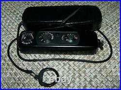Minox B Subminiature Spy Camera Black serial # 812654, 8 x 11mm, Vintage EUC