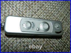 Minox B Subminiature Spy Camera chrome serial #951678, 8 x 11mm, Vintage EUC