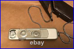 Minox B Vintage Cold War Spy Camera with Chain AND case