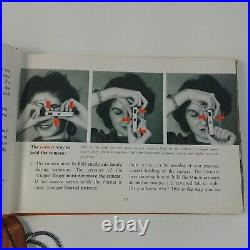Minox B Vintage Miniature Spy Camera Bundle Case Chain Film Book Manual