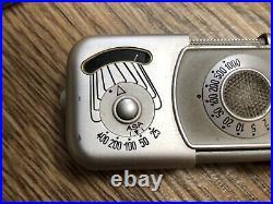Minox B (Wetzler) Sub-Miniature Spy Film Camera With Chain & Leather Case
