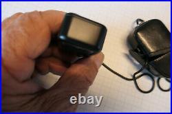Minox Belichtungsmesser Schwarz mit Etui und Kette