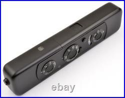 Minox C BLACK No. 2416162 mit Lederetui & Kette! Wie NEU MINT condition A/A-