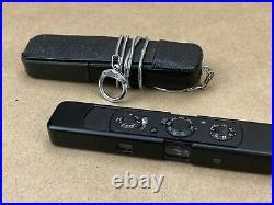 Minox C Black Spy Subminiature camera with Case, Box & Chain