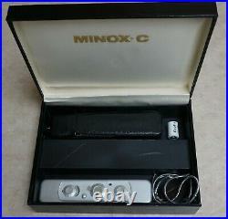 Minox C Spy Camera In Case, & Accessories