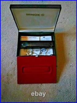 Minox C Subminiature Spy Camera