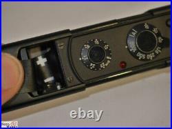 Minox C black mit Etui und Messkette Miniaturkamera 8x11mm Film