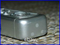 Minox III Subminiature Spy Camera chrome serial #37030 8 x 11mm, Vintage EUC